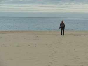 Karin am Strand Monte Gordo